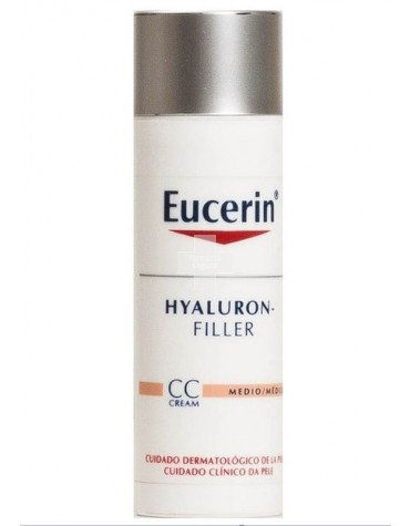 eucerin hyaluron filler cc cream tono medio 50 ml. Black Bedroom Furniture Sets. Home Design Ideas