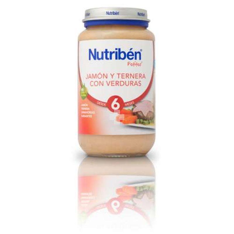 NUTRIBEN JAMON TERNERA VERDURAS 235 G