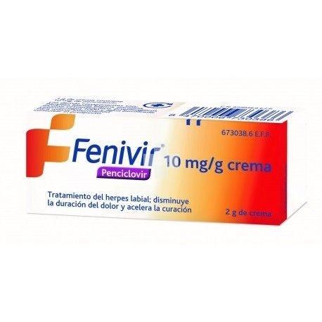 FENIVIR 10 mg/g CREMA 2 G