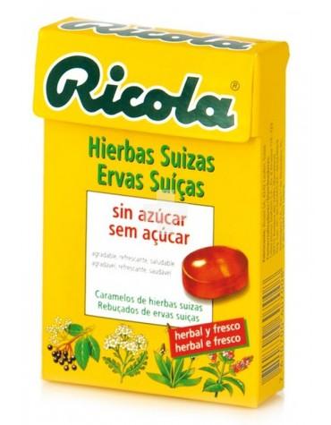 RICOLA CARAMELOS HIERBAS SUIZAS SIN AZUCAR 50 GR