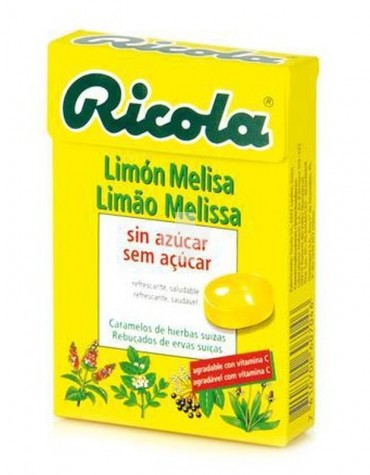 RICOLA CARAMELOS LIMON MELISA SIN AZUCAR 50 GR