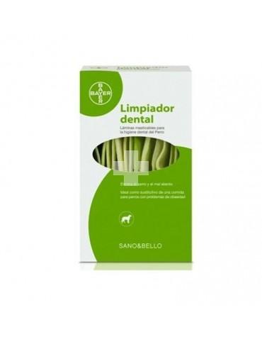 Limpiador Dental Sano&Bello. Apto para la higiene dental del perro.