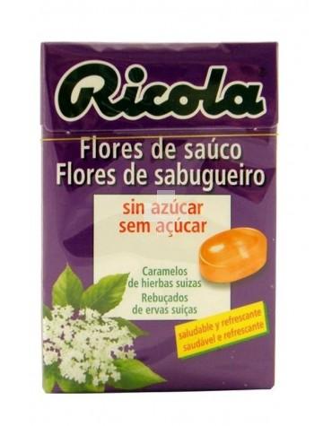 RICOLA CARAMELOS FLOR DE SAUCO SIN AZUCAR 50 GR