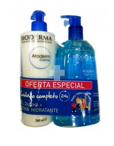 Atoderm Duo Gel 1000 ml + Crema 500 ml
