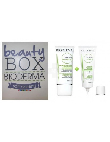 Soft Peeling (Serum 40 ml+Pore Refiner 30 ml) Bioderma