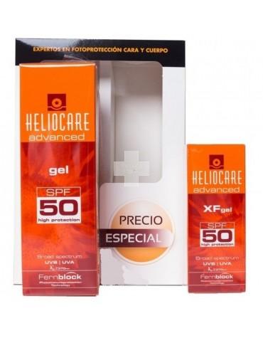 Pack Heliocare Spray 200 ML SPF 50 + Heliocare XF SPF50 Gel  50 ml