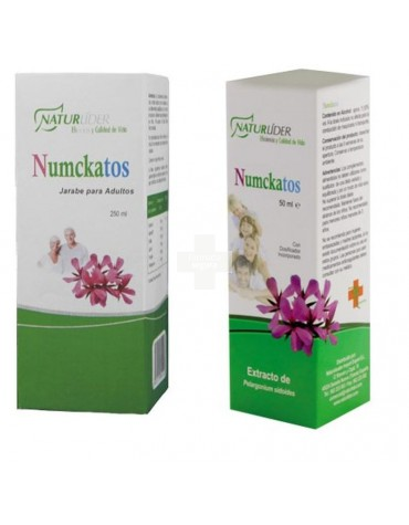 NATURLIDER NUMCKATOS JARABE ADULTOS 250 ML