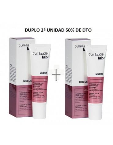 Promo Duplo mucus gel 30 ml 2ª unidad 50% de dto.