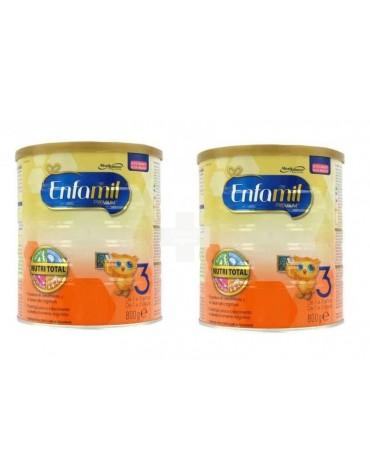 Oferta Enfamil 3 Premium ( 2X800 g) leche completa a partir del primer año