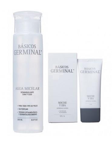Pack Germinal Agua Micelar + Noche y Día