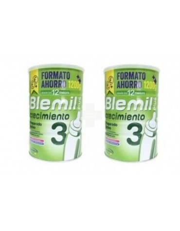 Oferta Blemil 3 plus (2X1200 g) leche indicada a partir del año