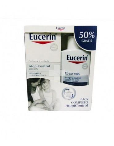 Eucerin Atopicontrol Loción 400 ml + Oleo 400 ml