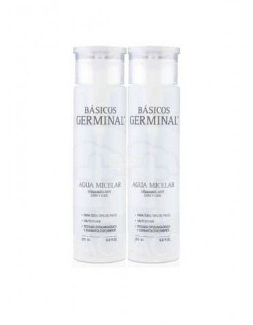 Duplo Agua Micelar Germinal 2X1