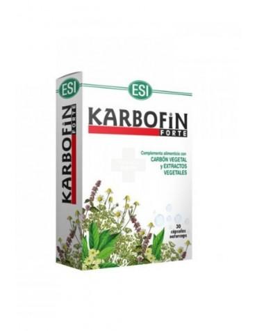 Karbofin forte cápsulas combate los gases