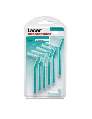 LACER CEPILLO INTERDENTAL EXTRAFINO ANGULAR