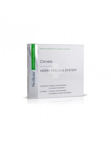 NEOSTRATA CITRIATE HOME PEELING SYSTEM (4 discos y 4 cremas monodosis)