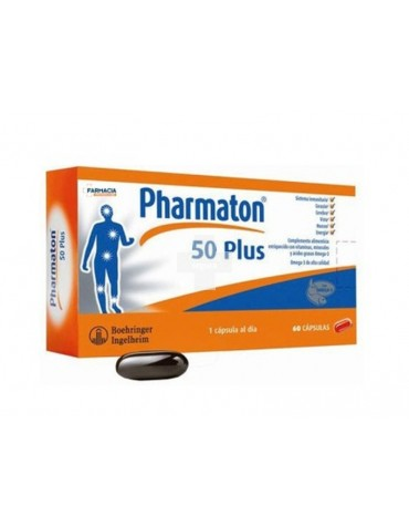 PHARMATON 50 PLUS 60 CAPS