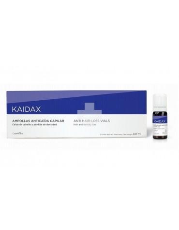 Kaidax Ampollas Anticaida Capilar. Ideal en el control y tratamiento de la caida del cabello.
