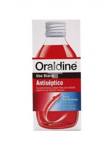 Oraldine Antiséptico 400 ml. Previene problemas bucales.