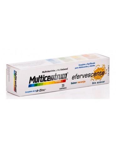 Multicentrum Luteína 20 comp efervescentes combate el desgaste