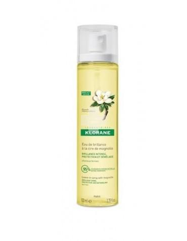Klorane Agua de Brillo a la Cera de Magnolia 100 ml. Luminosidad para cabellos apagados.