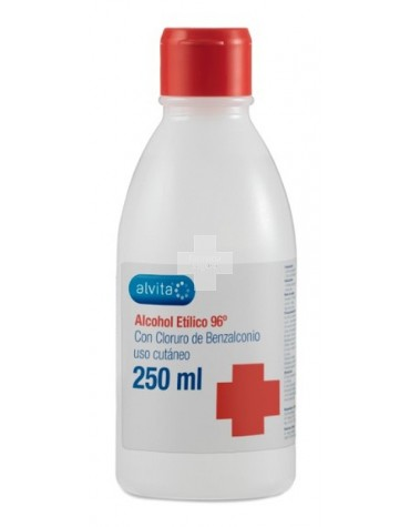 ALVITA ALCOHOL ETILICO 96º   250 ML