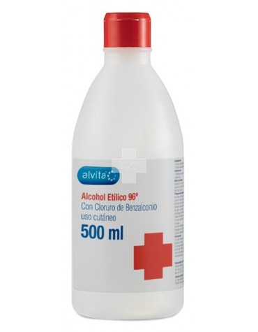 ALVITA ALCOHOL ETILICO 96º   500 ML