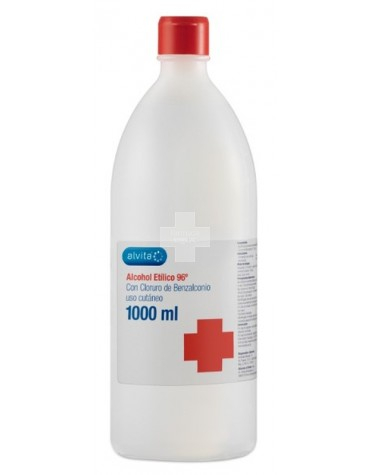 ALVITA ALCOHOL ETILICO 96º 1000 ML