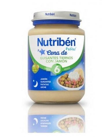 NUTRIBEN CENA GUISANTES CON JAMON 200 G