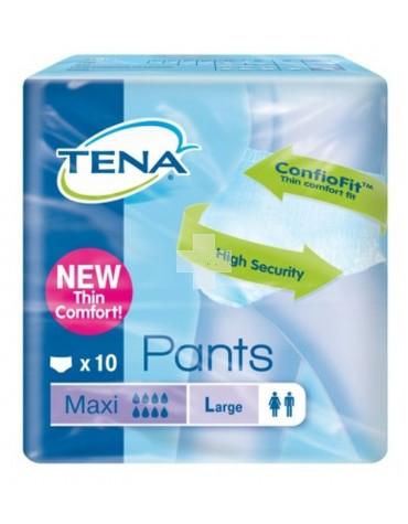 TENA PANTS MAXI T- GDE 10 U