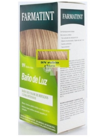 FARMATINT BAÑO DE LUZ 75ml RUBIO CLARO 9N