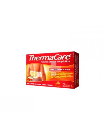 Thermacare parches térmicos zona lumbar/cadera 2 parches