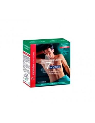 Somatoline Cosmetic tratamiento cintura y abdomen 7 noches 2 unidades 150+150ml