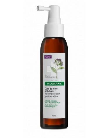Klorane Serum Fortificante Anticaída 125 ml. Fortalece el cabello de la raíz a las puntas.