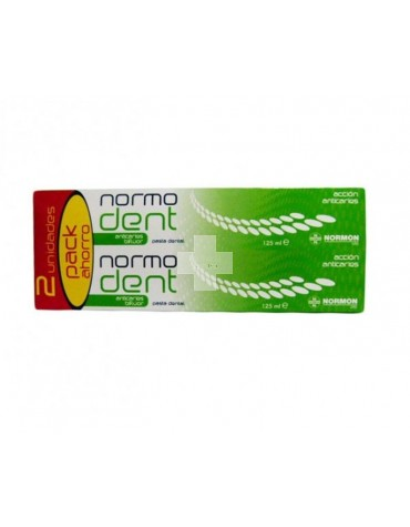 Pack Ahorro Normodent Anticaries Pasta 2X125 ml