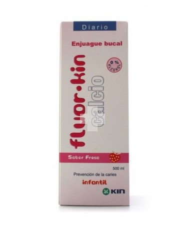 FLUOR KIN CALCIO FRESA 500 ML
