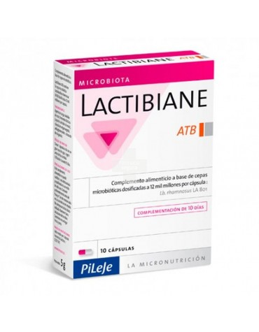 Lactibiane ATB 10 cápsulas para la diarrea