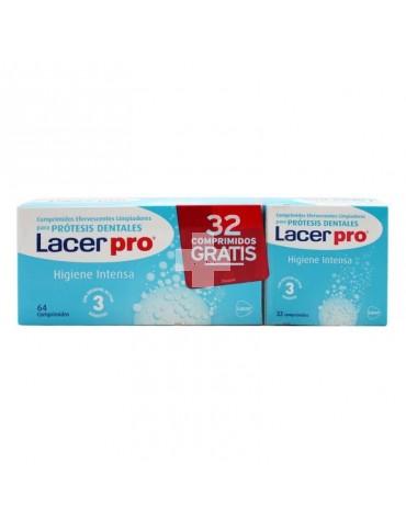LACER PROTABS COMP LIMPIEZA PROTESIS DENTALES 64+32