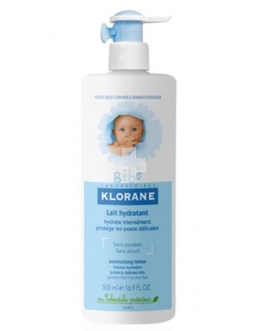 KLORANE BEBE LECHE HIDRATANTE 500 ML