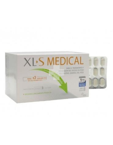XLS Medical Captagrasas 180 comp. Control eficaz del peso junto con dieta equilibrada y ejercicio físico.