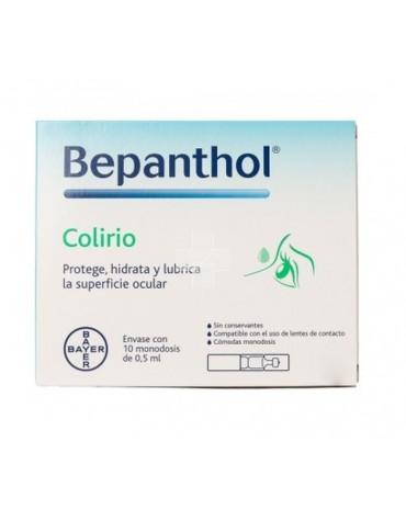 Bepanthol Colirio Estéril 10 Monodosis 0.5 ml