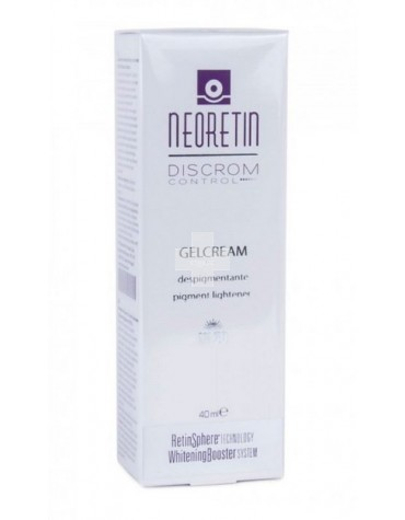 Neoretin Discrom Control GelCrema 40 ml, atenúa y previene las manchas