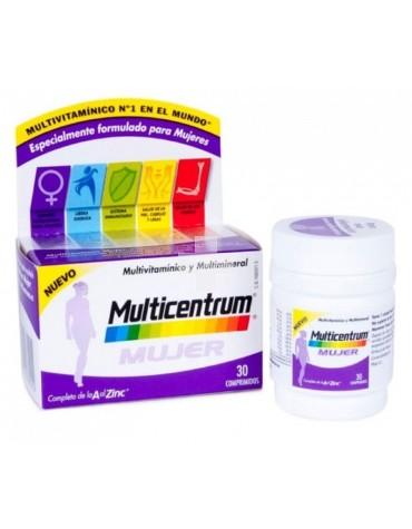 Multicentrum Mujer 30 comprimidos cubre las necesidades específicas de la mujer