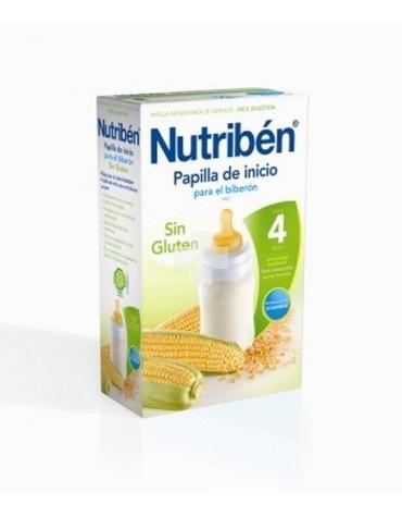 NUTRIBEN CEREALES SIN GLUTEN INICIO BIBERON 600 G