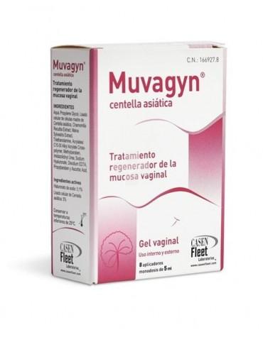 Muvagyn centella asiática 8 aplicadores de 5 ml