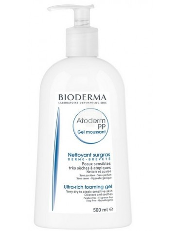 ATODERM PP  GEL MOUSSANT 500 ML