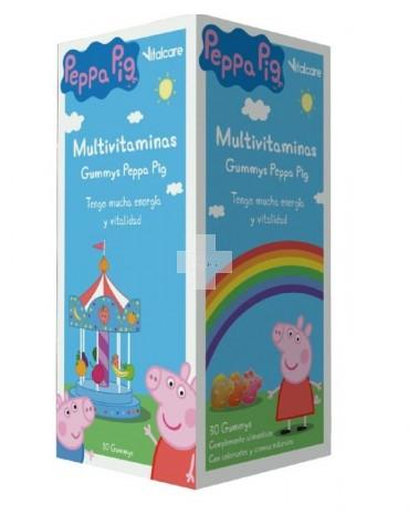 Peppa Pig Multivitaminas 30 Gummys