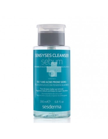 Sensyses Cleanser Sebum Burbujas Lipídicas 200 ml