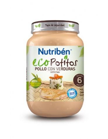 Nutribén Ecopotito Pollo con Verduras selectas 235 g