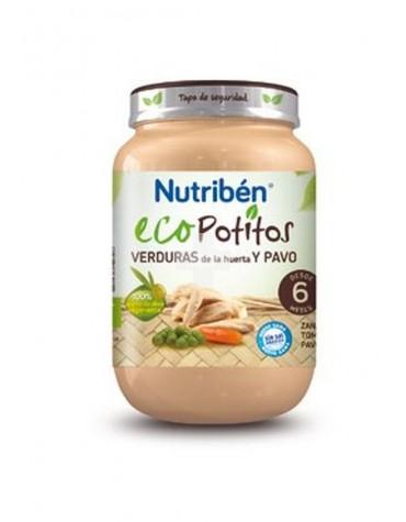 Nutribén Ecopotito verduras de la huerta y pavo 250 g